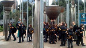 Children at Fed bells