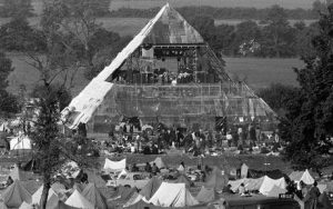 Pyramid Stage, Glastonbury 1981
